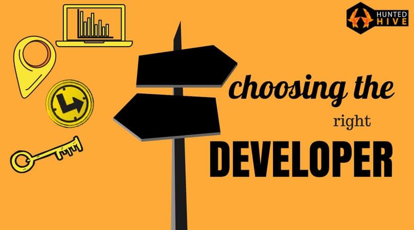 choosing the right web developer