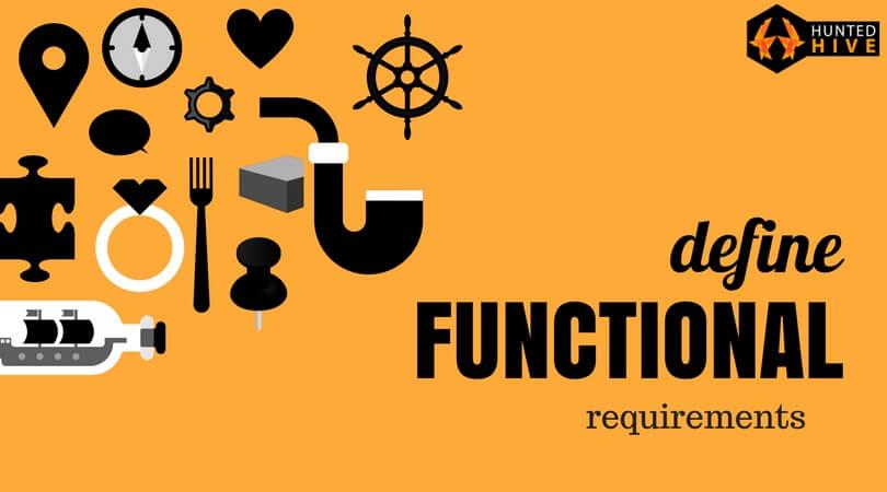 define functional requirements