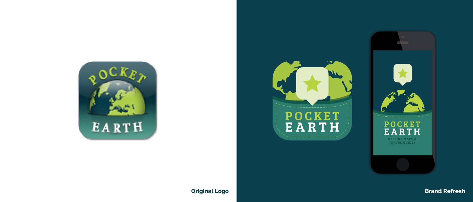 Hunted Hive - Pocket Earth Branding Example